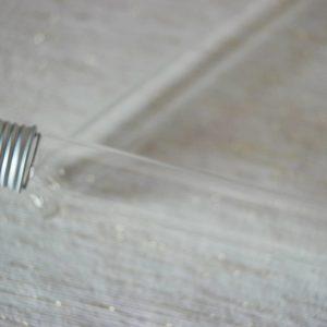 tube en verre 21cm